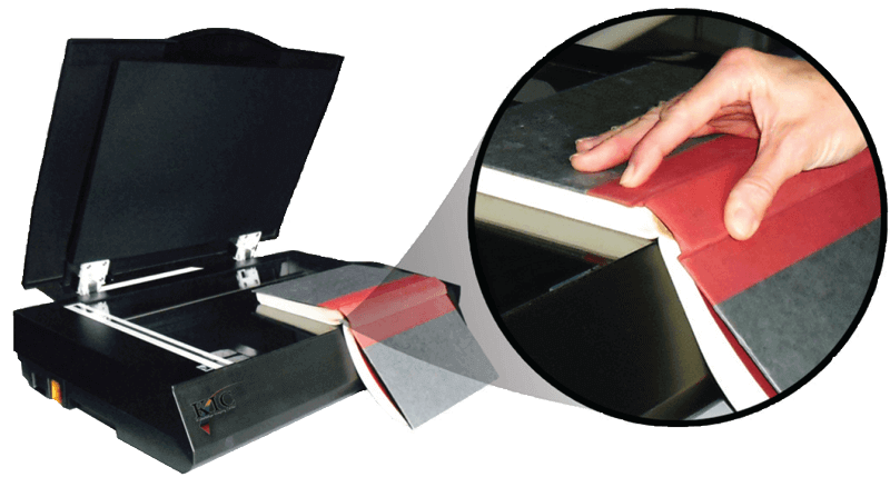 bookedge scanner