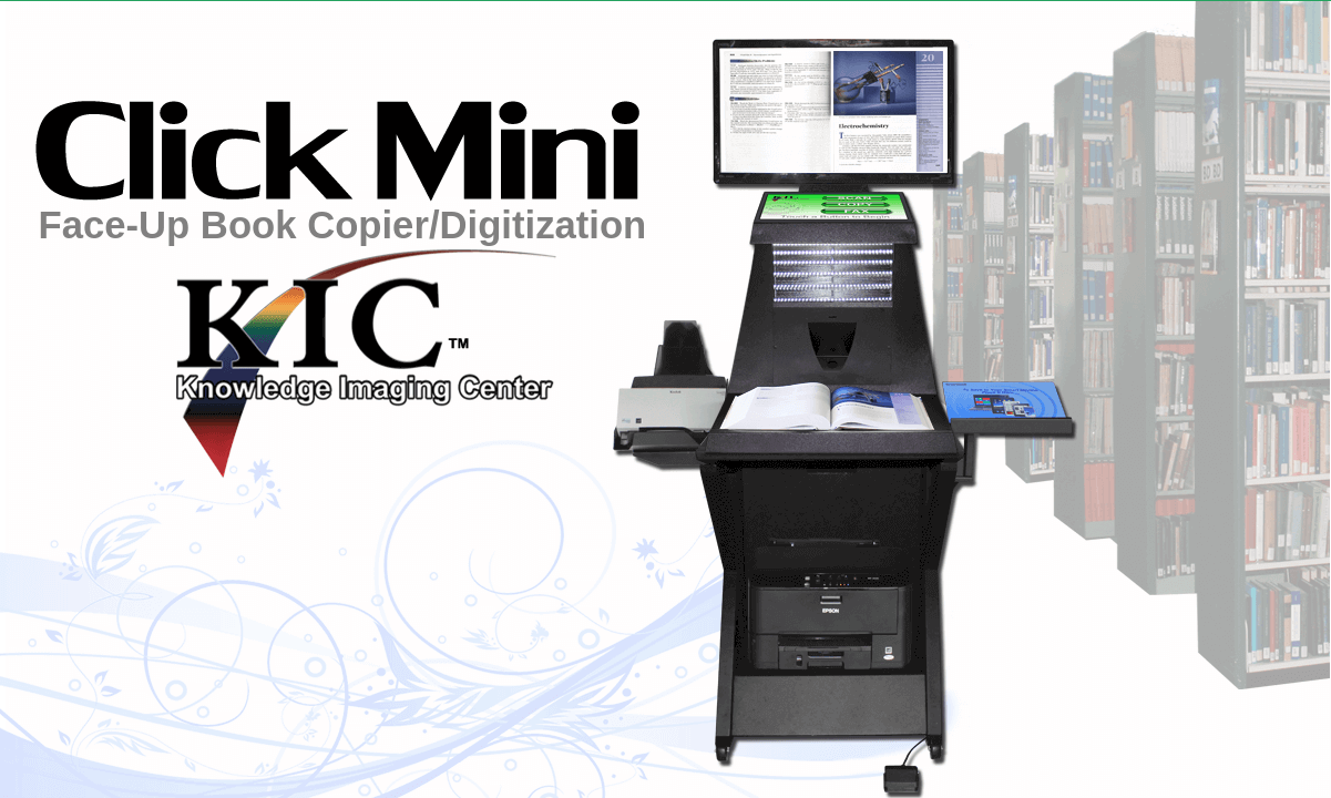 KIC Click Mini Book Scanners