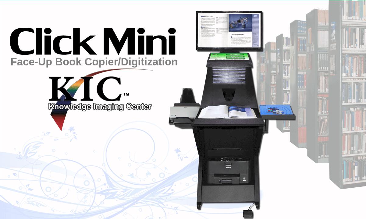 KIC Click Mini Book Scanners